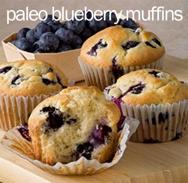 Paleo Blueberry Muffins | Catch 88